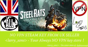 Capable Steel Rats Clé Steam Aucun Vpn Region Free Vendeur Britannique-afficher Le Titre D'origine