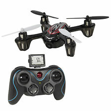RC 6 Axis Mini Quadcopter Flying Drone Gyro HD Camera Remote Control LED Lights