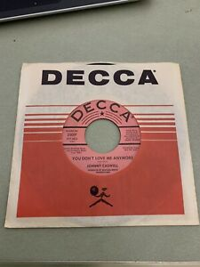 Johnny Caswell-You Don't Love Me Anymore-Rare Holy Grail Northern Soul DJ Promo
