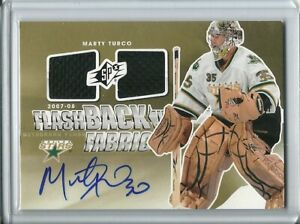 2011-12-SPx-Flashback-Dual-Fabric-Autographed-Marty-Turco-Dallas-Stars
