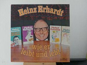 LP-Heinz-Erhardt-Wie-er-leibt-und-lebt-sehr-guter-Zustand