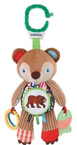 Eric Carle Brown Bear Developmental Toy Plush Infant Baby Activity Toy NEW