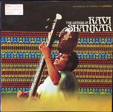 Ravi Shankar The Genius Lp Rare Import Venezuela Pressing Sitar India Yoga