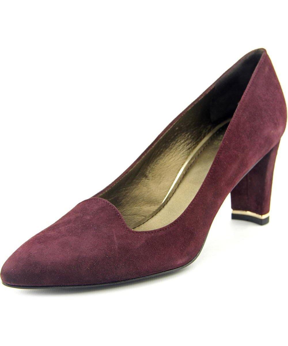 NIB $385 Stuart Weitzman Pointed Toe Suede Shoes Pump Heels Size 8(US)