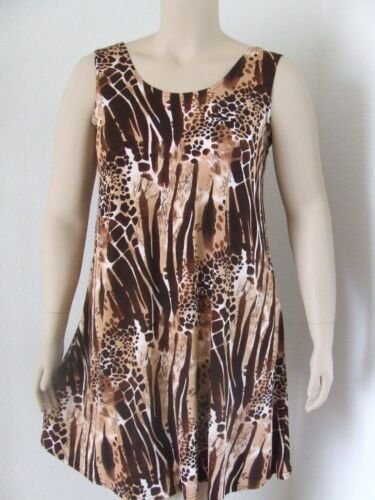 Short A-Line Tank stretchy no-iron poly//span #995 NEW Travel Knit Dress
