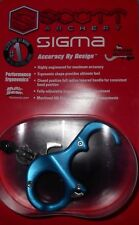 """@NEW@ BLUE Scott Archery """"Sigma"""" Thumb/Button Hand-held Bow String Release Aid!"""