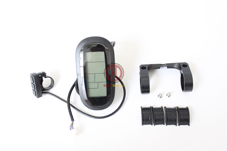 Latest 24-72V  KT LCD6 Display Meter Control Panel Ebike Electric Bicycle