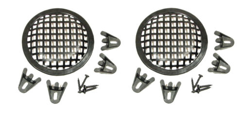2 Pack Procraft 5 Speaker Grill With Mounting Hardware for 5  Woofers
