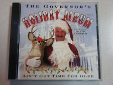 THE GOVERNOR'S HOLIDAY ALBUM FEATURING DAVID EHRLICH 17 SONG XMAS PROMO RARE CD