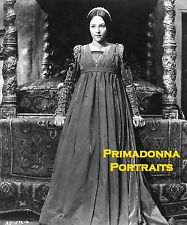 "OLIVIA HUSSEY 8X10 Lab Photo ""ROMEO & JULIET"" Elegant Gown Movie Still Portrait"