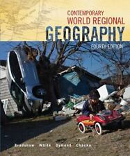 Contemporary World Regional Geography by Michael Bradshaw (2011, Hardcover / Mixed Media)
