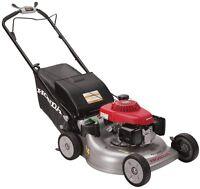 Honda Lawn Mower Variable Speed Gas Self Propelled Auto Choke 21 In. 3-in-1