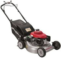 Honda Lawn Mower Variable Speed Gas Self Propelled Auto Choke 21 In. 3-in-1