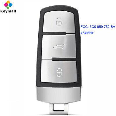 PASSAT B6 to 2015 ID48 CHIP NEW 3 BUTTON KEY FOB DASH REMOTE for VW PASSAT CC