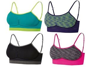 5369cabd23639 Image is loading Crivit-Ladies-Seamless-Sports-Bustier-Bra-Sports-Wear-