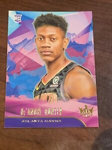 De-039-Andre-Hunter-2019-20-Panini-Court-Kings-rookie-card-Atlanta-Hawks-rc-No-74