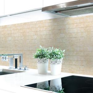 Kuechenrueckwand-Ziegelwand-Beige-Premium-Hart-PVC-0-4-mm-selbstklebend