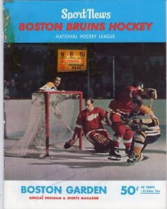 check out ea1f2 5f601 Details about 1966 Boston Bruins Program Bobby Orr 1st Month vs Chicago  w/Ticket/Hull Sign FR