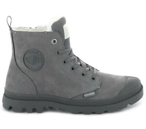 Palladium-Pampa-Hi-Zip-WL-W-Damen-Winter-Boots-95982-055-Leder-Stiefel-gefuettert