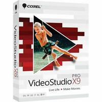 Brand Corel Videostudio X9 Pro Full Version Disk Included Usa Seller