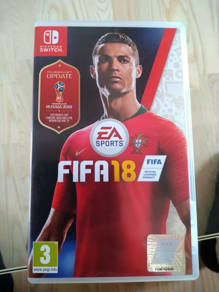 Fifa 18, Nintendo Switch, sport