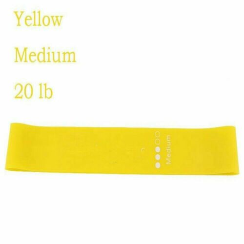 HOT Yoga Gym Fitness Resistance Elastic Training Rubber Band Stretch Exercise *