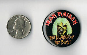 IRON-MAIDEN-Number-of-the-Beast-1982-LP-Album-PROMO-PIN-Button-Badge