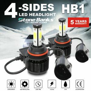 Pair 9004 HB1 LED Headlight Bulb High//Low Beam Canbus Kits 6000K 120W 32000LM