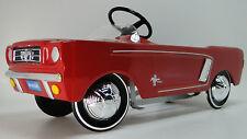 1965 Mustang Ford Pedal Car A Vintage Hot T Rod  Midget Metal Show GT Model Art