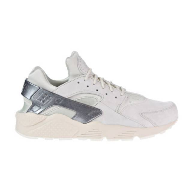 {704830-013} MEN'S NIKE AIR BONE/GREY/SAIL HUARACHE RUN PREMIUM SHOE LIGHT BONE/GREY/SAIL AIR *NEW* 6e6a60