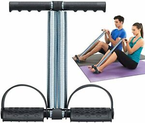 COVVY-Elastic-Sit-Up-Equipment-Pull-Rope-Dual-Spring-Tension-Foot-Pedal-Sit-Up