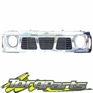 CHROME-GRILLE-SUIT-GQ-PATROL-NISSAN-87-94-SERIES-1-MAVERICK-GRILL-Y60