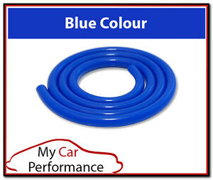 4mm ID Silicone Vacuum Tube Hose Blue 1 Meter - Silicon Water Air