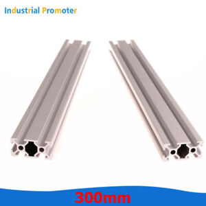 2PCS 600mm 2040 T-Slot Aluminum Extrusion Profile 20mm x 40mm for CNC 3D Printer
