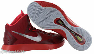 Couleurs variées 9c5bb 9e668 Details about Nike Lunar Hyperquickness TB Men's Basketball Red Sneakers  Hightop Size 17