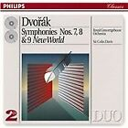 Antonin Dvorak - Dvorak: Symphonies Nos. 7, 8 & 9 (1993)