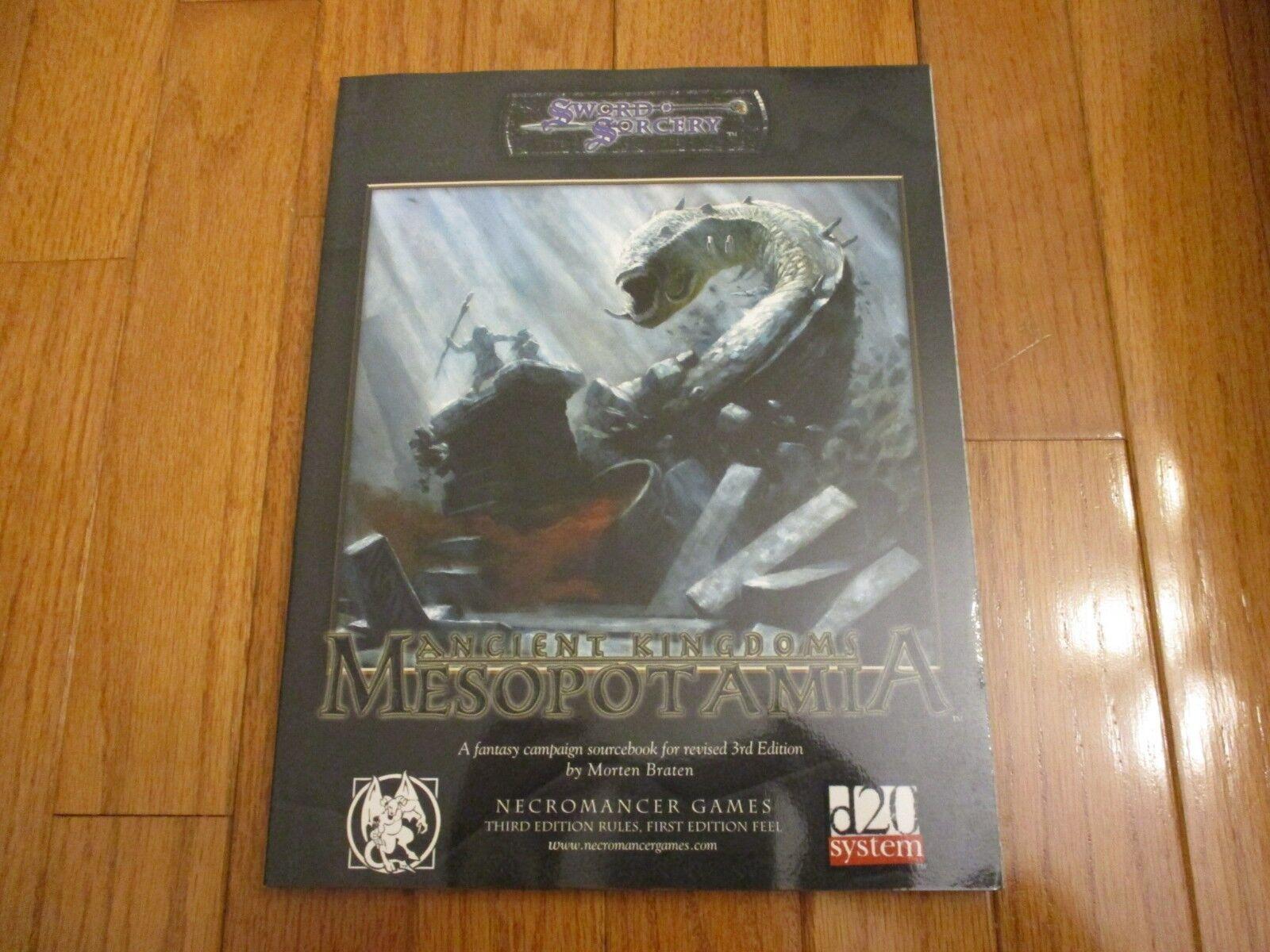 D&D D20 Sword & Sorcery Ancient Kingdoms Mesopotamia Mesopotamia Mesopotamia 6a37ee