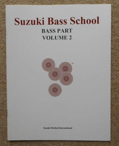 13 Pieces in 15 Pages 1993 Clean Copy Suzuki Bass School Bass Part Volume 2