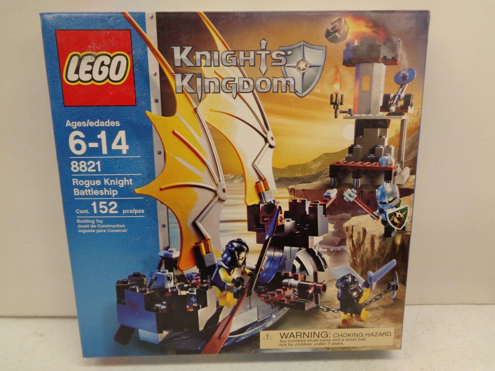Lego Knight's Kingdom Rogue Caballero ACORAZADO edificio de Juguete de 8821 6-14 años, 152 PC