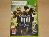 Army of Two The Devil's Cartel Xbox 360 UK PAL **FREE UK POSTAGE**