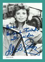 USCHI GLAS | Schauspielerin | Original-Autogramm auf Starkarte