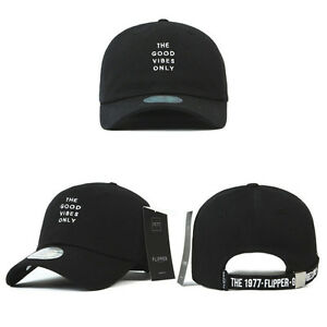 Details about Unisex Mens Long Tail Strap Good Vibes Only Baseball Cap  Adjustable Hats Black e5df5252dd6