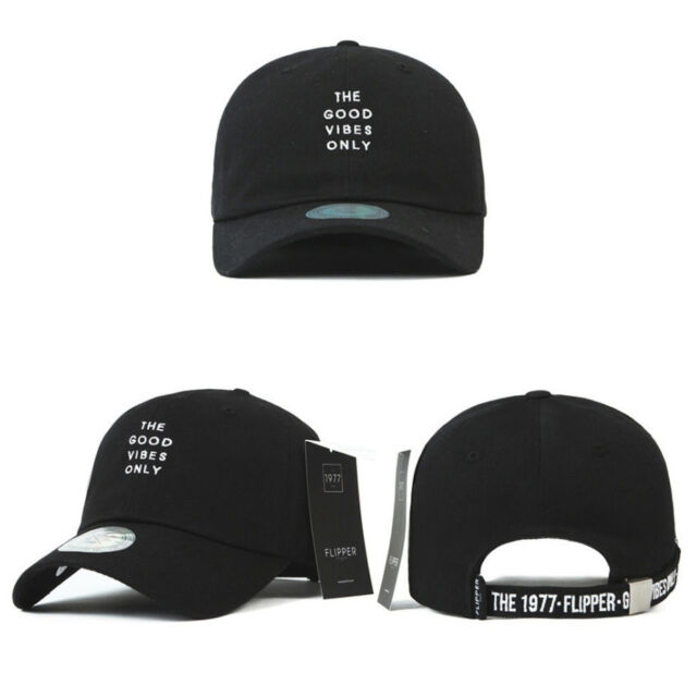 Buy Unisex Mens Long Tail Strap Good Vibes Only Baseball Cap ... 42daaf879bf