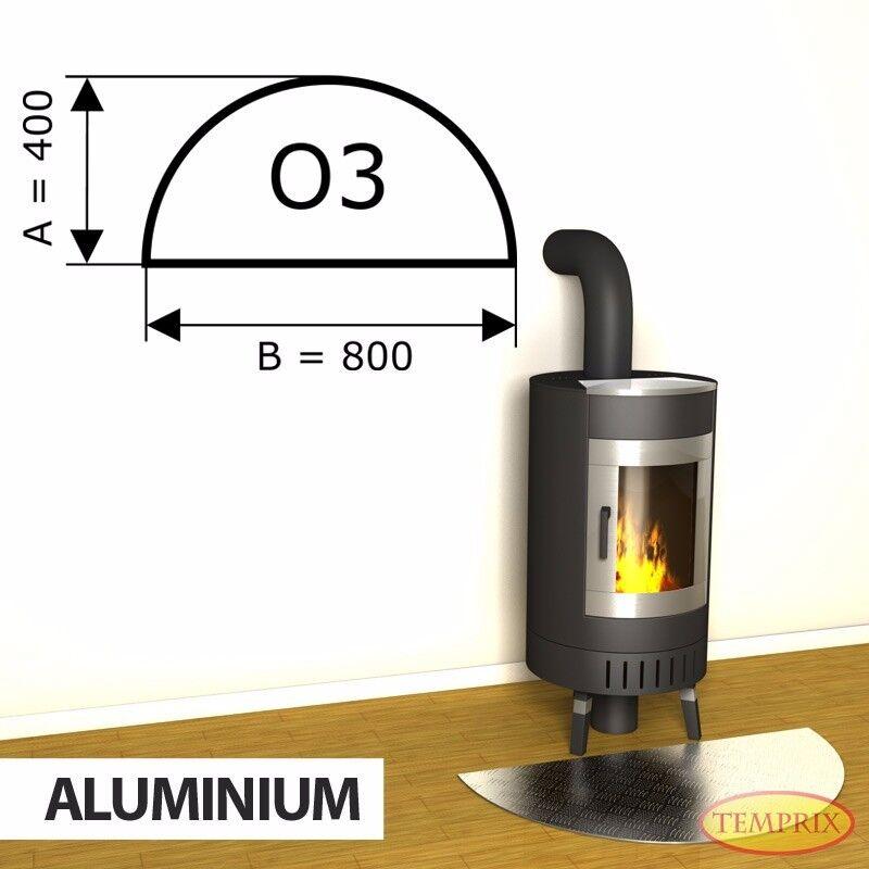 Temprix CAMINO piastra di base & forno lamiera   Scintille Piastra di protezione per camino & forno   o3
