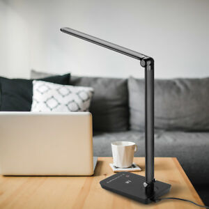 Image Is Loading Le 8w Touch Sensor Flexible Dimmable Led Desk