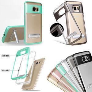 A-Prueba-De-Choques-Soporte-Hibrido-PC-Tpu-Claro-Funda-para-Samsung-Galaxy