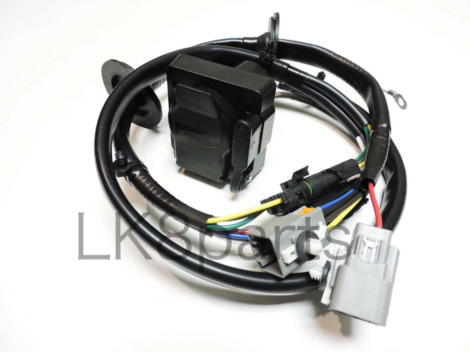 Trailer Wiring Harness Kit Free Diagram For You Lights Land Rover Lr4 Tow Hitch Wire 2013 Traverse