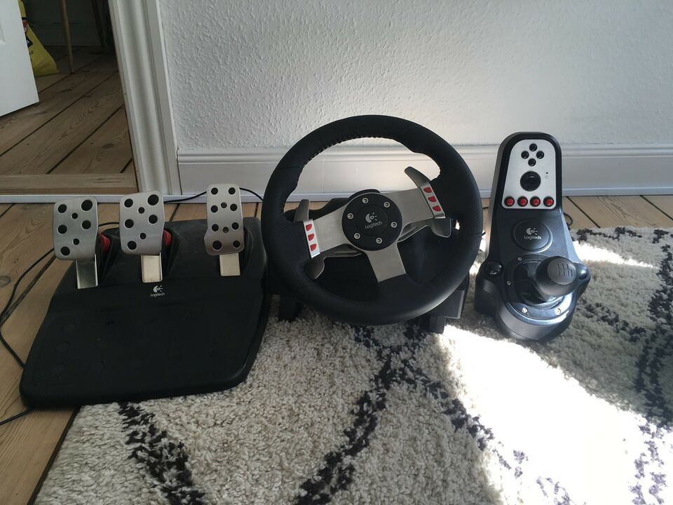 Logitech G27 Racing kit, PS3, racing