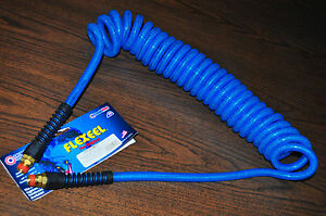 "Coilhose PUE14-20B-T Flex Coil hose 20 Ft w//Reusable Reinfored Swivel1//4/""NPT End"