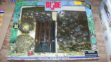 GI JOE 12 INCH LARGE WWII D DAY BATTLE FIELD DELUXE MISSION GEAR DIORAMA SET NEW